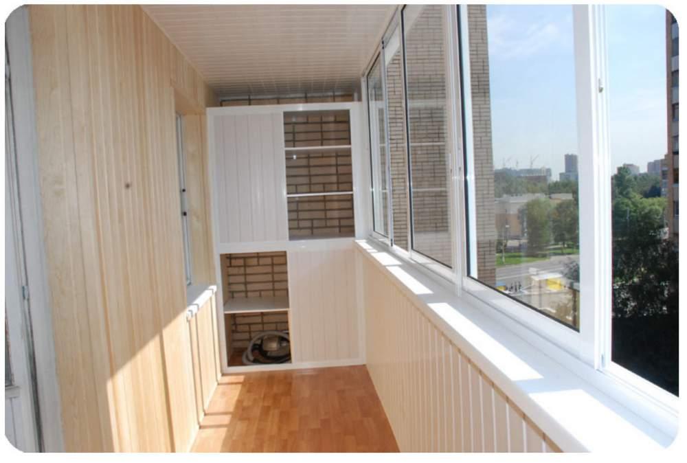 Остекление 6 метрового балкона пластиковыми окнами фото..